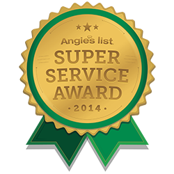 Angie's list super service 2014 award