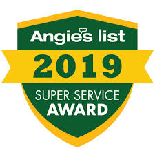 Angie's list super service 2019 award