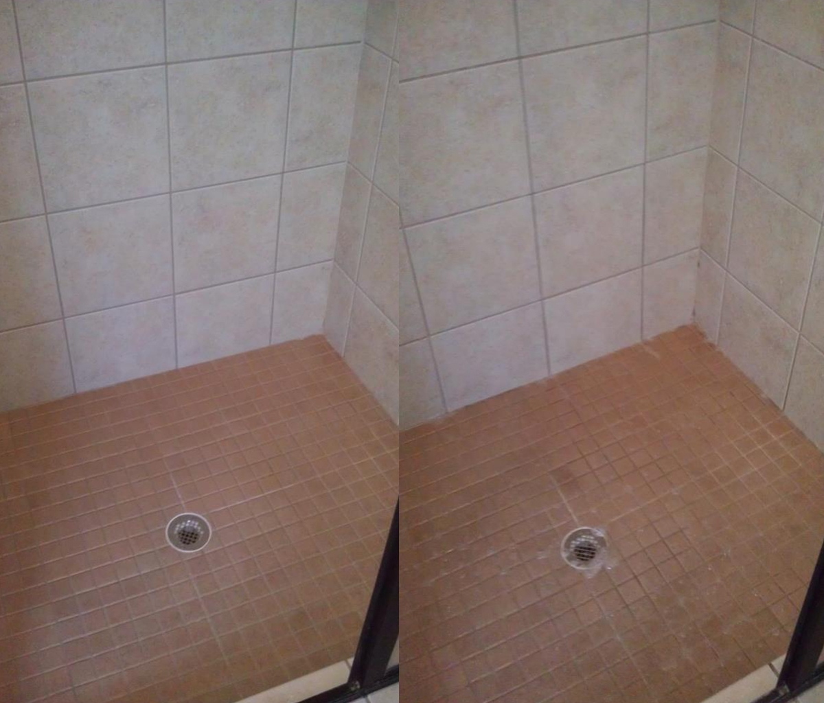 Tile and Grout Shower Cleaning